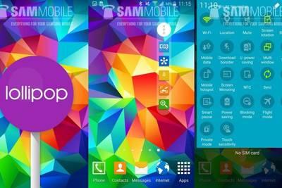 Samsung начала обновлять Galaxy S5 до Android 5.0 Lollipop в Европе