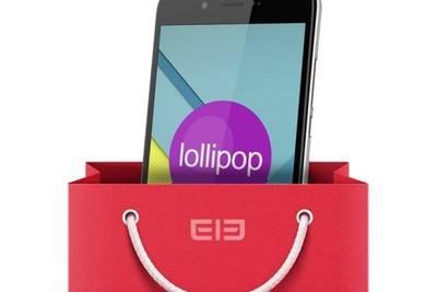 Elephone P6000 – первый в Китае смартфон с Android 5.0 Lollipop