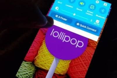 Опубликованы первые снимки Samsung Galaxy Note 4 под управлением Android 5.0 Lollipop