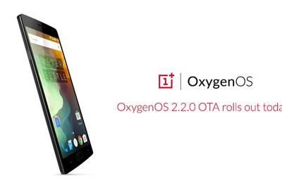 OnePlus 2 обновился до Oxygen OS 2.2.0
