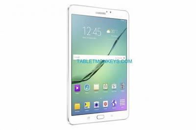 В сети появились официальные изображения Galaxy Tab S2 8.0
