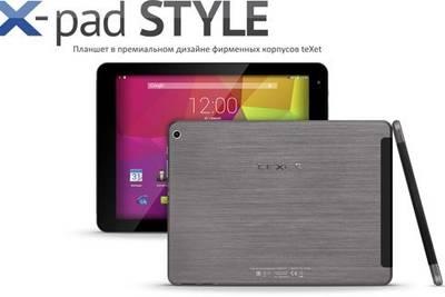teXet выпустила планшет X-pad STYLE 10.1 3G с Hi-Fi звуком