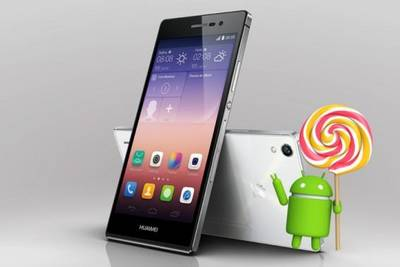 Android 5.1 раздают для Huawei Ascend P7