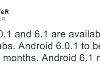 Android 6.1 стоит ждать в следующем году