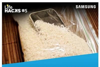 Лайфхак от компании Samsung, всем владельцам iPhone.