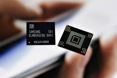 Samsung планирует оснащать смартфоны среднего класса 128 ГБ памяти, выполненной по технологии EMMC 5,0.