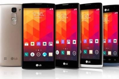 LG представила на  2015 четыре новых смартфона начального и среднего уровня: Joy, Leon, Spirit и Magna.