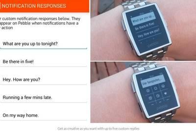 Pebble для Android и iOS, а также сами часы получили обновление программного обеспечения.