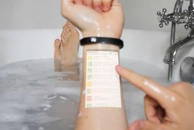 Смарт-браслет Cicret превратит руку пользователя в экран смартфона.Прототип покажут через несколько недель.