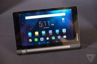 Lenovo анонсировала два бюджетных планшета: 8-дюймовый Yoga Tablet 3 и 10-дюймовый Yoga Tablet 3 Pro.