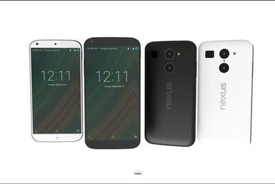 Дизайнер Jermaine Smit создал рендер Nexus 5(2015) на основе утечек.