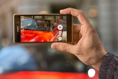 Так же Sony представила смартфон Xperia M5, который отличается высокой скоростью фокусировки (0,25 сек).
