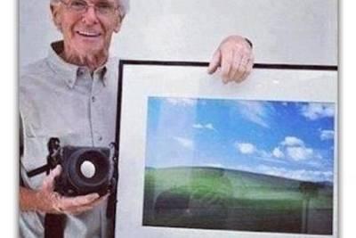 Человек, который сделал самую популярную фотографию в мире.
