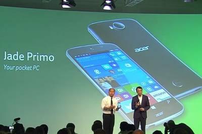 Acer Jade Primo - первый ПК-телефон!