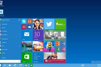 AMD назвала срок выхода Windows 10