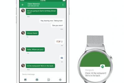 Android Wear теперь поддерживает устройства на iOS