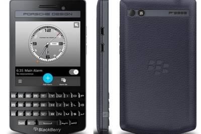 Анонсирован BlackBerry Porsche Design P'9983 Graphite стоимостью $1950