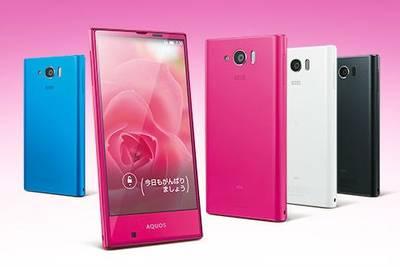 AQUOS SERIE mini – компактный смартфон с высокими характеристиками от Sharp