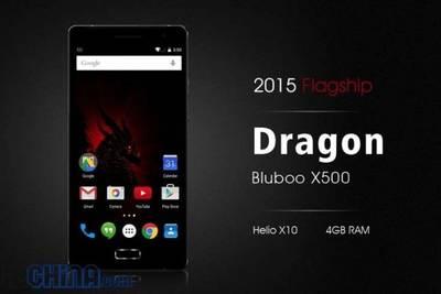 Bluboo X500 Dragon получит 5-дюймовый экран