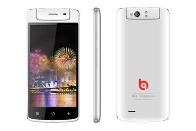 BQ выпустила смартфон с поворачивающейся камерой