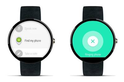 Часы на Android Wear помогут найти потерявшийся смартфон