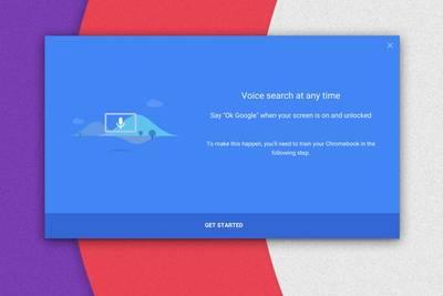 Chrome OS вскоре научится воспринимать команду «OK Google» независимо от того, что находится на экране устройства