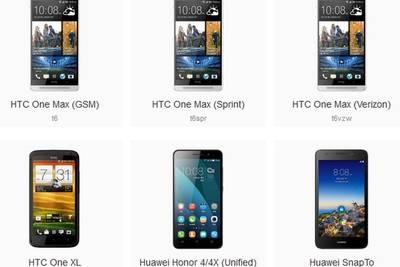 Cyanogen расширяет список поддерживаемых смартфонов