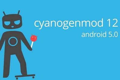 CyanogenMod 12 на Android 5