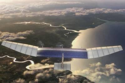 Facebook приступает к тестированию гигантских дронов, раздающих интернет в отдаленные уголки нашей планеты
