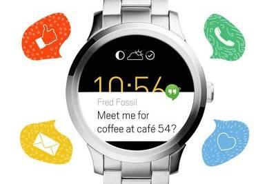 Fossil представила первые часы на Android Wear