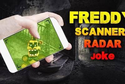 «Freddy Сканер Радар Шутка»: разыгрываем друзей Фредди