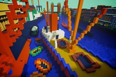 Галерея Tate выпустит карты для Minecraft с материализовавшимися картинами