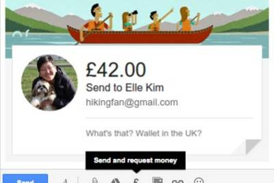 Google разрешила отправлять деньги через Gmail