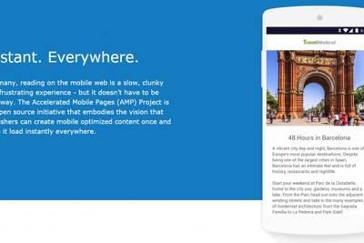 Google собирается существенно ускорить загрузку мобильных веб-страниц