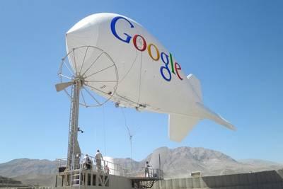 Google запатентовала методы управления высотой воздушных шаров