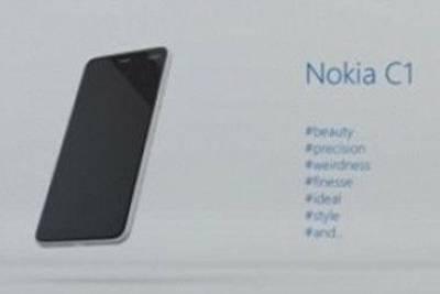 Готовится смартфон Nokia C1 на базе Android