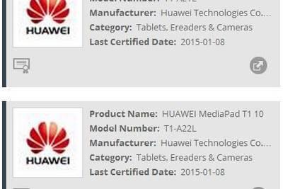 Huawei MediaPad T1 с 10-дюймовым экраном готовится к выпуску