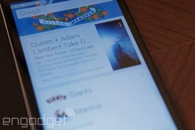Интернет-помощник Google Now обзаведется голосовыми уведомлениями и поддержкой сторонних сервисов