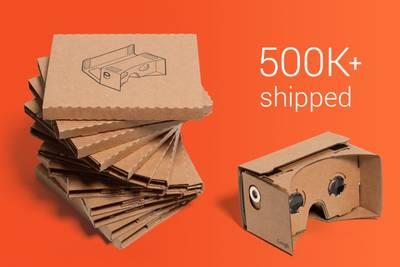 Картонный шлем виртуальный реальности Google Cardboard становится серьезным проектом