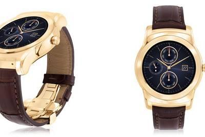 LG анонсировала золотоые Watch Urbane Luxe за $1200, с ремешком из кожи аллигатора