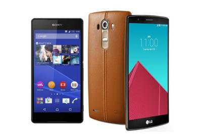 LG G4 и Sony Xperia Z4 сравнили в бенчмарке
