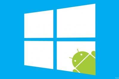 Microsoft может объявить о поддержке приложений Android на Windows в ходе конференции Build 2015