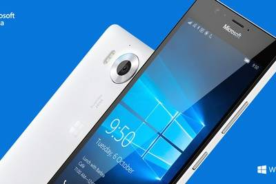 Microsoft представила новые флагманские смартфоны Lumia 950 и Lumia 950 XL