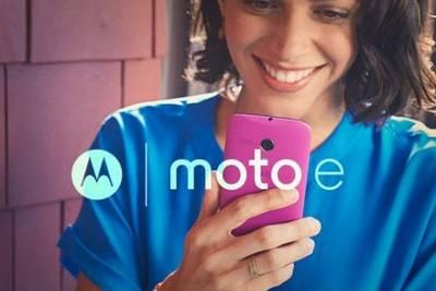 Motorola готовит обновление Moto E с 64-битным процессором