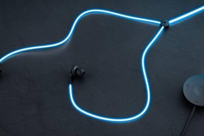 На kickstarter появились наушники с подсветкой