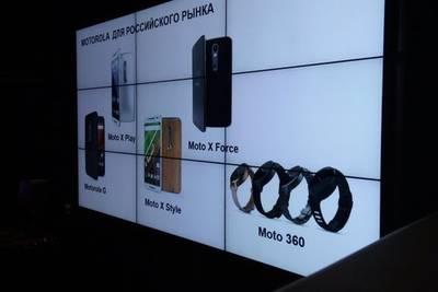 Названы устройства Motorola для российского рынка