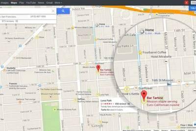 Новые карты Google Maps для Android предоставят водителю данные о месте назначения