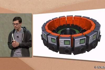 Очень много времени посвящено картонной коробочке с сомнительными возможностями виртуальной реальности
