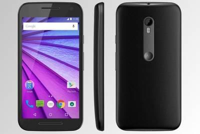 Официальное изображение Android-смартфона Motorola Moto G (2015)