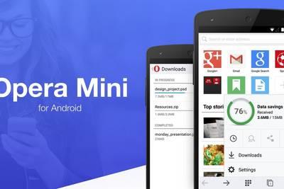 Opera Mini 8 для Android получила переработанный интерфейс